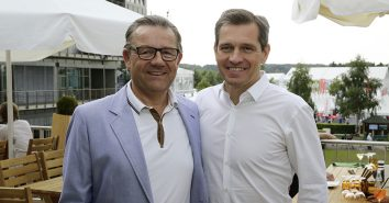 Freunde der Bratwurst: Frank Remagen & Michael Mronz