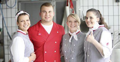 Fleischerverband Auszubildende, Ausbildungsbericht