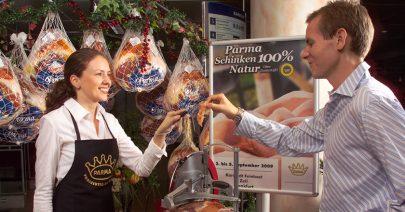 Parmaschinken-Spezialisten