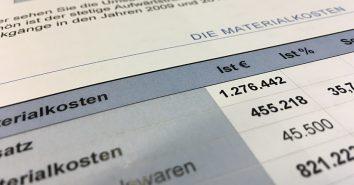 DFV Umsatz Kosten