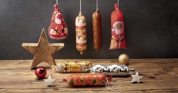 Wiberg Weihnachts Wursthuellen Deko