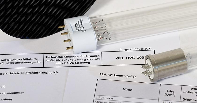 UVC-Entkeimung Luft