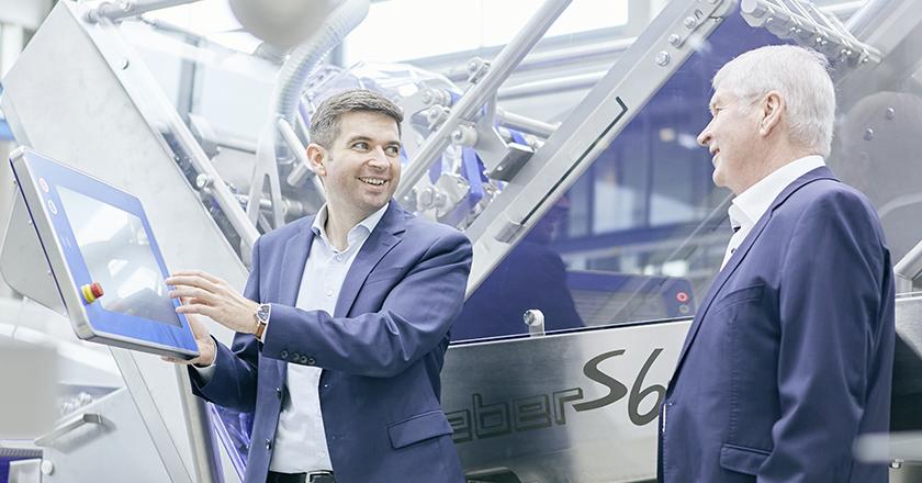 Weber Maschinenbau 40 Jahre Tobias Guenther Weber