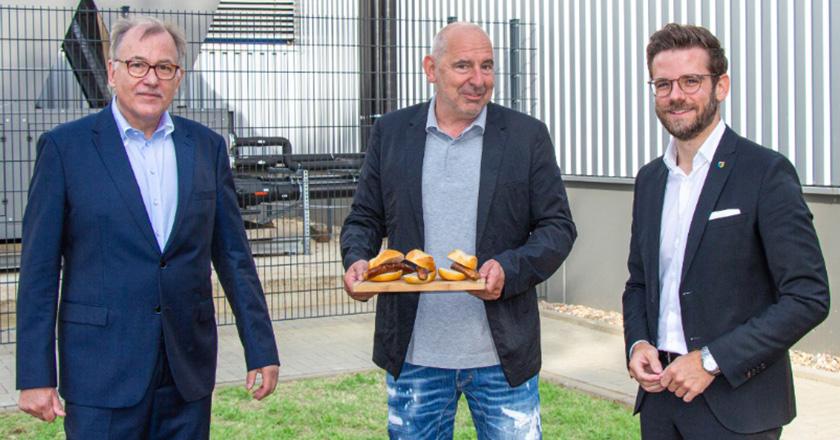 Gourmetfleisch.de Einweihung Kuehlen Logistik