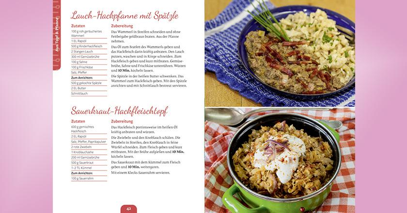 dlv Hackfleisch Kochbuch Alle lieben